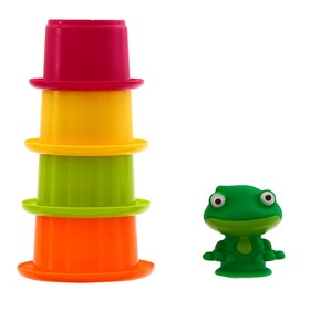 Игрушки для купания «Лягушонок со стаканчиками»