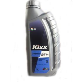 Масло трансмиссионное Kixx Geartec GL-5 75W-90, 1 л