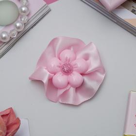 Зажим для волос 'Маленькая леди' цветок, розовый Ош
