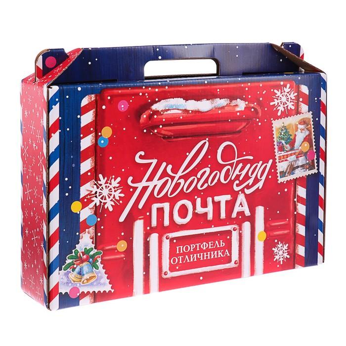 Коробка Новый год «Набор отличника. Новогодняя Почта», без наполнения