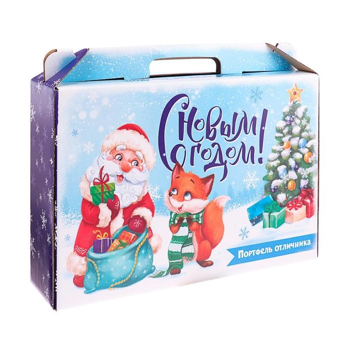 Коробка Новый год «Набор отличника. С новым годом», без наполнения