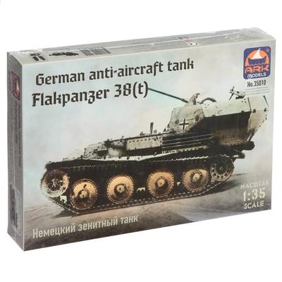 Сборная модель «Немецкий зенитный танк Флакпанцер 38» - Фото 1