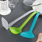 Набор кухонных принадлежностей «Трио», 3 предмета, цвет МИКС