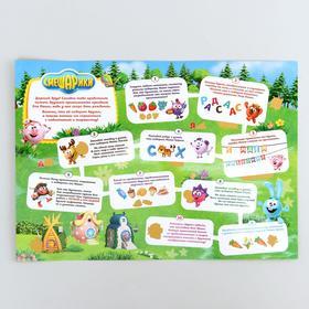 Игровой плакат со скретч-слоем СМЕШАРИКИ