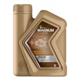Масло моторное Rosneft Magnum Cleantec 10W-40, 1 л синт