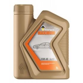 Моторное масло  Rosneft Maximum 15W-40 SG/CD, 1 л минер.