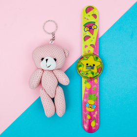 Набор «Фрукты», часы наручные, игрушка 20,8 х 25 см Ош