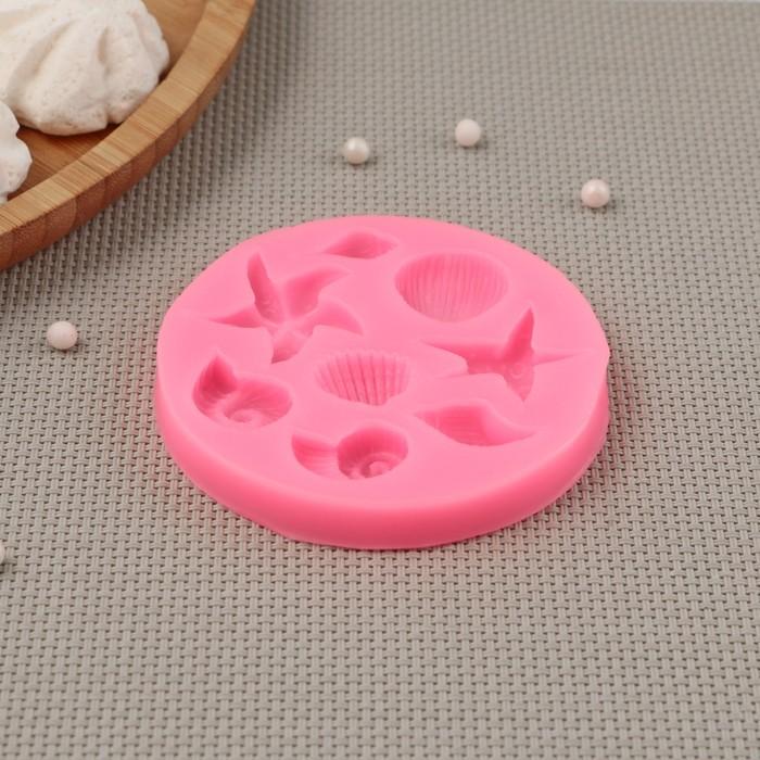 Молд силиконовый «Моркие звёзды», 8×8 см