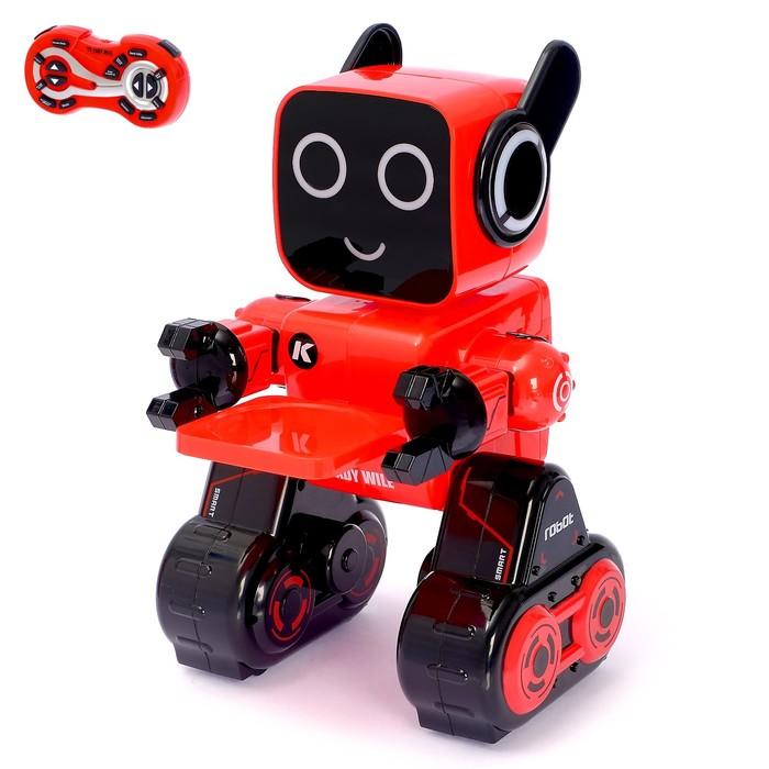 Робот радиоуправляемый, интерактивный «Вилли», световые и звуковые эффекты, работает от аккумулятора