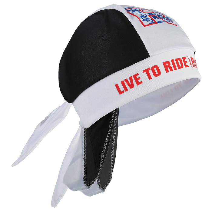 "Бандана велосипедная ""Live to ride"", 27 х 13 см"