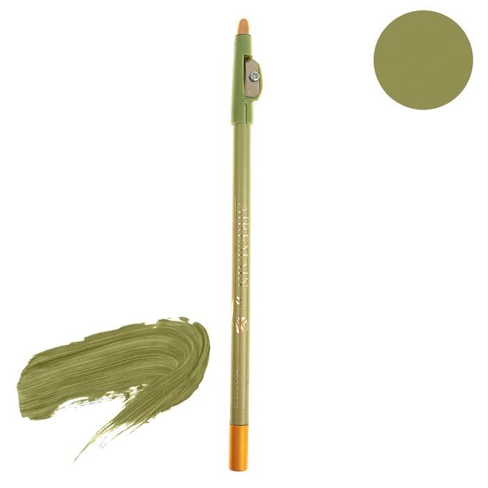 Карандаш Aireman, с точилкой, светло-зеленый 47