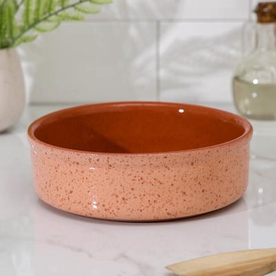 Форма для запекания Ломоносовская керамика, 800 мл, цвет розовый