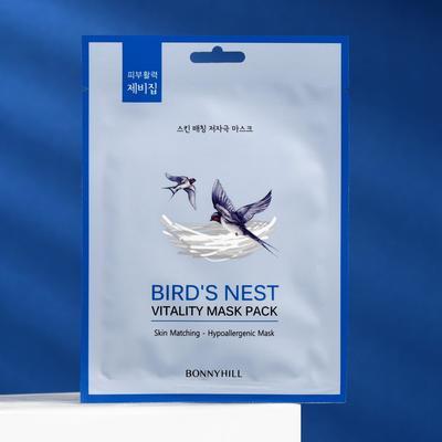 Маска для лица ласточкино гнездо, BONNYHILL - Фото 1