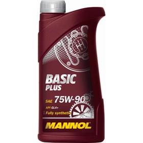 Масло трансмиссионное MANNOL 75w90 син. Basic Plus, 1 л