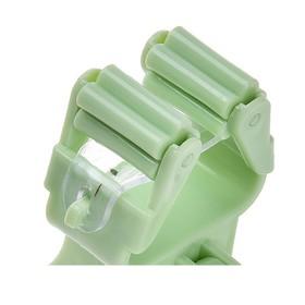 Настенный держатель для швабры, зеленый, 2 шт