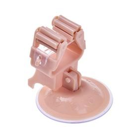 Настенный держатель для швабры, розовый, 2 шт