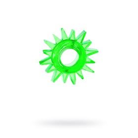 Эрекционное кольцо TOYFA, TPE, зеленый Ош