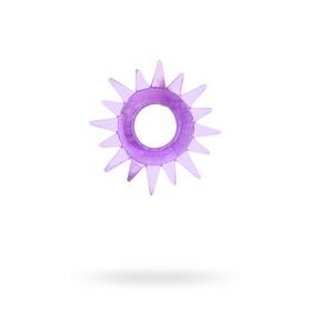 Эрекционное кольцо TOYFA, TPE, фиолетовый Ош
