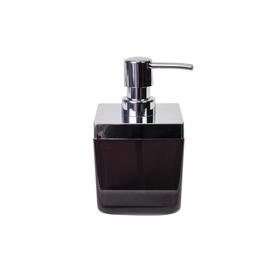 Дозатор для жидкого мыла Toskana, цвет прозрачно-чёрный