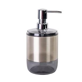 Дозатор для жидкого мыла Lima XL, цвет прозрачно-чёрный