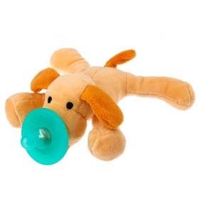 Прорезыватель-соска с игрушкой «Собачка»