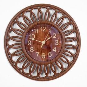 Часы настенные, серия: Интерьер, 'Мербау', 25х25 см Ош