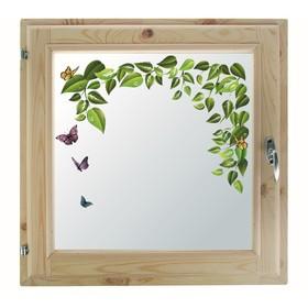 Окно, 50×50см, 'Весна', однокамерный стеклопакет Ош