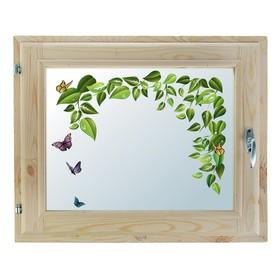 Окно 40х60 см, 'Весна', однокамерный стеклопакет, уплотнитель, хвоя Ош