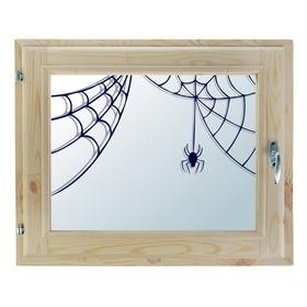 Окно, 40×60см, 'Паучок', однокамерный стеклопакет Ош