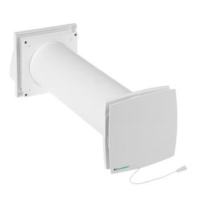 Проветриватель реверсивный 'Домовент Соло' РА1-35-9 Р, для стен 300-580 мм, 220 В, d=103 мм Ош