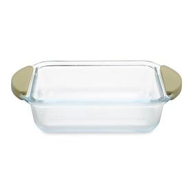 Блюдо для запекания стеклянное, 21.5×15×5.5 см, 0.7 л