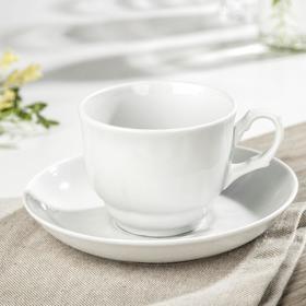 Чайная пара Добрушский фарфоровый завод «Бельё», 250 мл