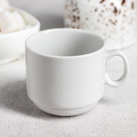 Чашка кофейная «Мокко», 100 мл, цвет белый Ош