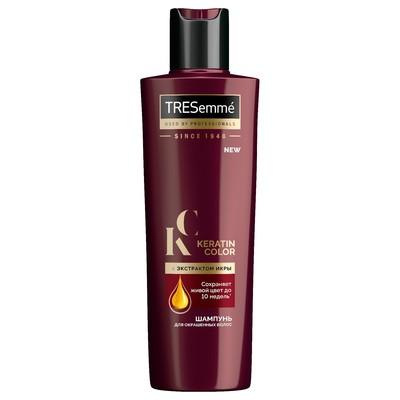Шампунь для волос Tresemme Keratin Color для окрашенных волос, с экстрактом икры, 230 мл - Фото 1