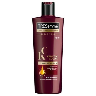 Шампунь для волос Tresemme Keratin Color, с экстрактом икры, 400 мл - Фото 1