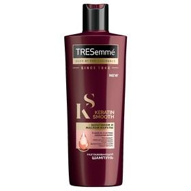 Шампунь для волос Tresemme Keratin Smooth, разглаживающий, с кератином и маслом марулы, 400 мл