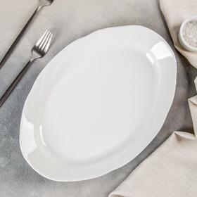 Блюдо овальное «Бельё», d=33 см