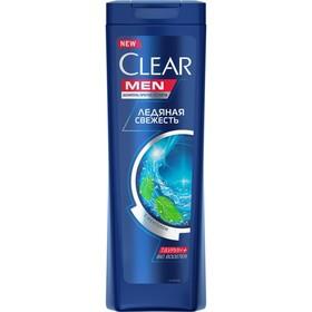 Шампунь для волос Clear Men «Ледяная свежесть», против перхоти, 400 мл