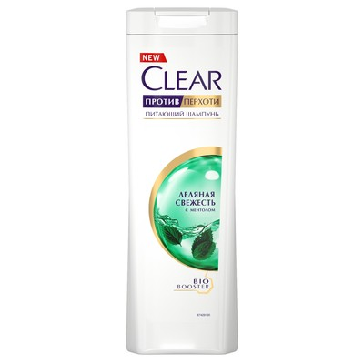 Шампунь для волос Clear «Ледяная свежесть», с ментолом, 400 мл