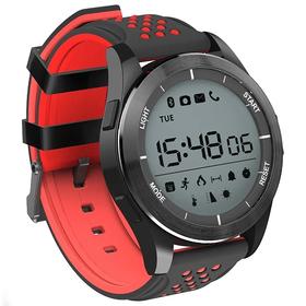 """Смарт-часы NO.1 F3, дисплей 1.1"""", чёрно-красные"""