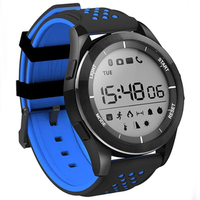 """Смарт-часы NO.1 F3, дисплей 1.1"""", чёрно-синие"""