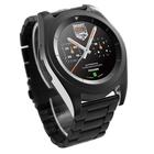 """Смарт-часы NO.1 G6, цветной дисплей 1.2"""", стальной ремешок, чёрные"""