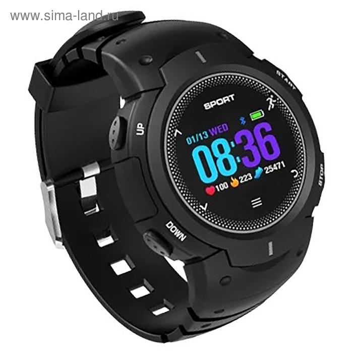 """Смарт-часы NO.1 F13, цветной дисплей 1"""", чёрные"""