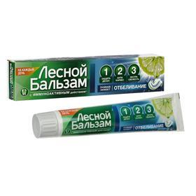 Зубная паста «Лесной бальзам», с соком лимона отбеливающая, 130 г