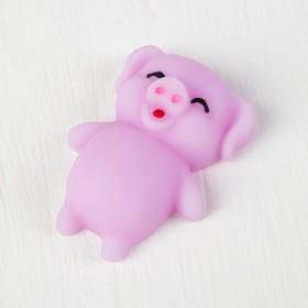 Мялка-антистресс «Свинка», цвета МИКС Ош