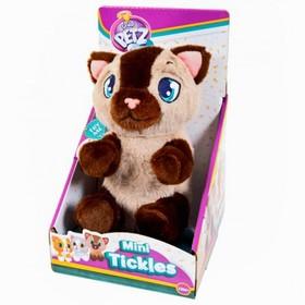 Игрушка интерактивная «Котёнок», цвет бежево-коричневый