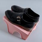 Подстака для обуви 26х21х12 см цвет МИКС