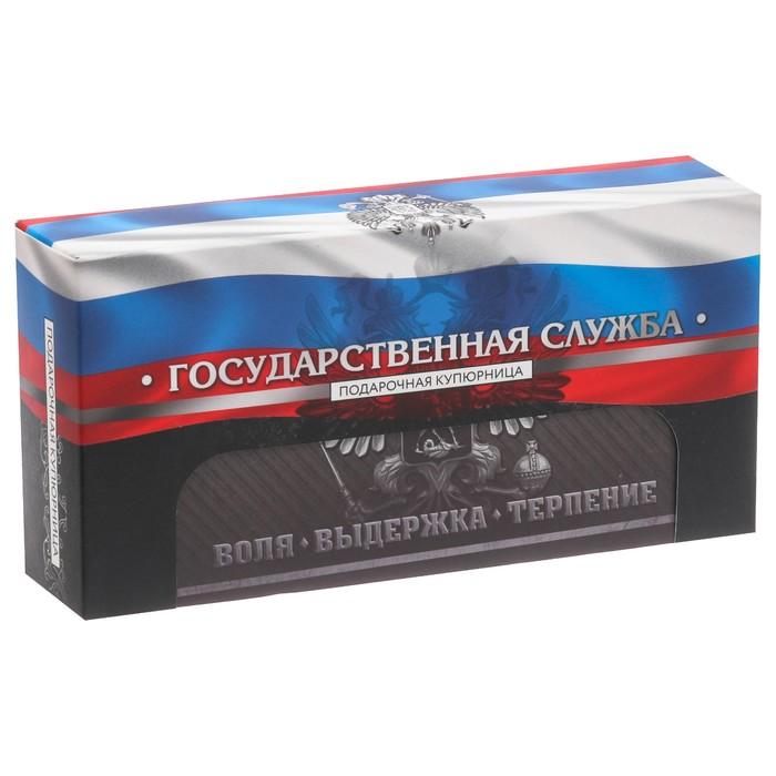 """Шкатулка """"Государственная служба"""""""
