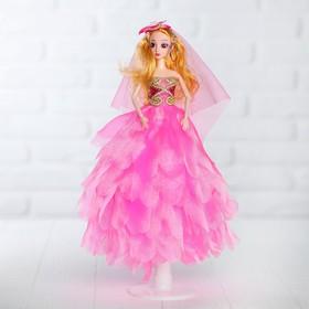 Кукла на подставке «Принцесса», цветок на голове Ош