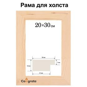Рамка для декорирования №2, 20 х 30 см, профиль 16 х 50 мм Ош